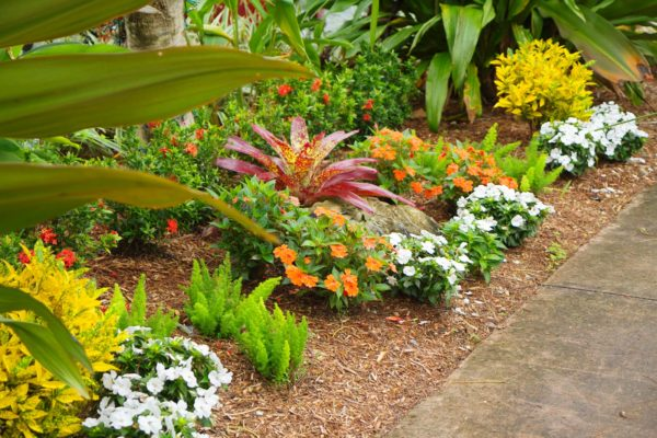 mulch and landscaping supplies in Fruitland Park, Florida.